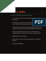 Tab1 House Rules