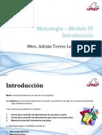 Metrología - Introducción
