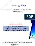 OFICIAL CAPACITAÇÃO DISCENTE - ORIENTAÇÃO PROJETO E TCC.pptx