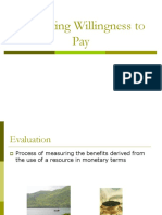 Evaluating Willingness to Pay.ppt