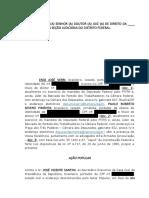 PT apresenta ação popular contra Santini na Justiça do DF
