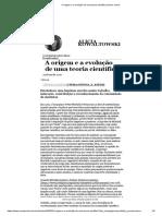 A origem e a evolução de uma teoria científica _ Nexo Jornal