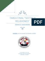 CUESTIONARIO DE SECTAS Y RELIGIONES