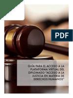 Guía Rápida de Plataforma Virtual