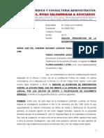 PRESCRIPCIÓN DE LA ACCIÓN PENAL-ESTUDIO JURÍDICO HARO REYES, RIVAS SALDARRIAGA & ASOCIADOS