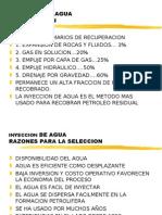 INYECCION DE AGUA