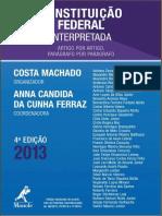 Constituição Federal Interpretada 2013 - Costa Machado e Anna Candida