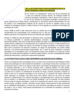 2APLICACIÓN FORENSE DE LA AUTOPSIA PSICOLÓGICA EN MUERTES DE ALTA COMPLEJIDAD FRANCISCO CEBALLOS u2