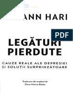 Legaturi pierdute. Cauze reale ale depresiei si solutii surprinzatoare - Johann Hari (2)