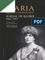 Regina Maria - Jurnal de război. 1916 –1917