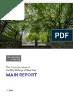 EMSI CCNY Economic Impact Report
