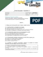 Teste_Filosofia 11_Estatuto do conhecimento científico (1)