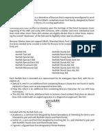 Norfolk documentation