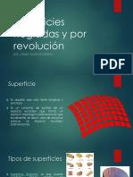 CLASE 3 - SUPERFICIES REGLADA Y POR REVOLUCION