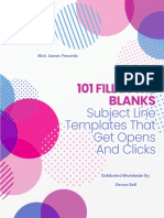 101 Fill in the Blanks Subject Line Templates That Get Opens and Clicks
