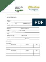 Inscripción Para Candidatura Junta de Vigilancia 2020