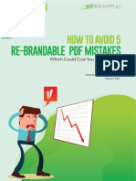 How to Avoid 5 Re-Brandable PDF Mistakes