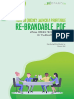 How to Quickly Launch a Profitable Rebrandable Report