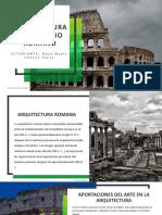 ARQUITECTURA DEL IMPERIO ROMANO