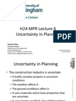 1011 H24MPR Lecture 6 - Uncertainty in Planning