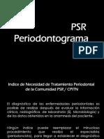 16_ Clase PSR y Periodontograma