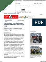 Exercício ilegal de profissão para engenheiros é apenas contravenção