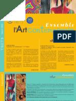 Flyer Exposition Ensemble l'Art Contemporain 2020