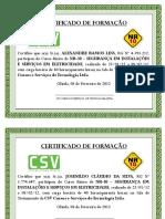Certificado básico NR-10 turma 2101 a 080212.ppt