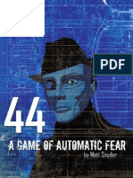 44 a Game of Automatic Fear