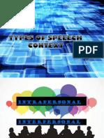 speech context