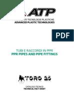 Katalog pipa PPR TORO