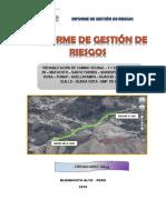 ANEXO 09 INFORME DE GESTION DE RIESGOS - CAMINO VECINAL_