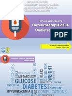 Farmacoterapia de la Diabetes Mellitus 2019