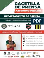 01/02/20 - Gacetilla de Prensa