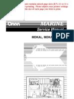 981-0524C Onan MDKAL MDKAA MDKAB Marine Diese Genset Service Manual