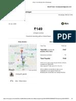 Gmail - Your Monday ride to Shivajinagar