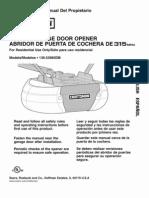 Garage Door Opener Manual
