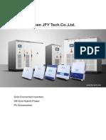 JFY PV Inverters Catalog (1)