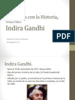 Indira Gandhi - Valentina Pérez
