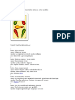 Como echar el Tarot e interpretar las cartas con cartas españolas