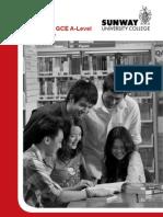 Cambridge GCE A-Level Student Guide 2011