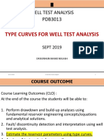 2. Type curves for well test analysis