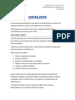 ANALISIS, sintesis, evaluacion