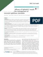 Recurrent aphthous stomatitis.pdf