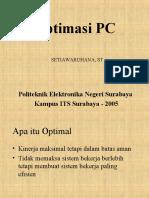 Optimasi PC