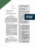 Ley del Sistema Portuario Nacional