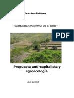 PROPUESTA ANTI-CAPITALISTA