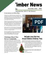 The Timber News! -- December 2010