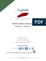 Eureka.in Andhra Pradesh 7.3 STD_VI Content List