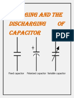 CHARGING AND THE DISCHARGING OF CAPACITOR